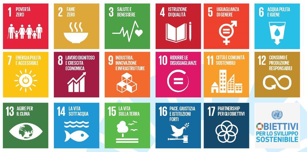 obiettivi per lo svilippo sostenibile h