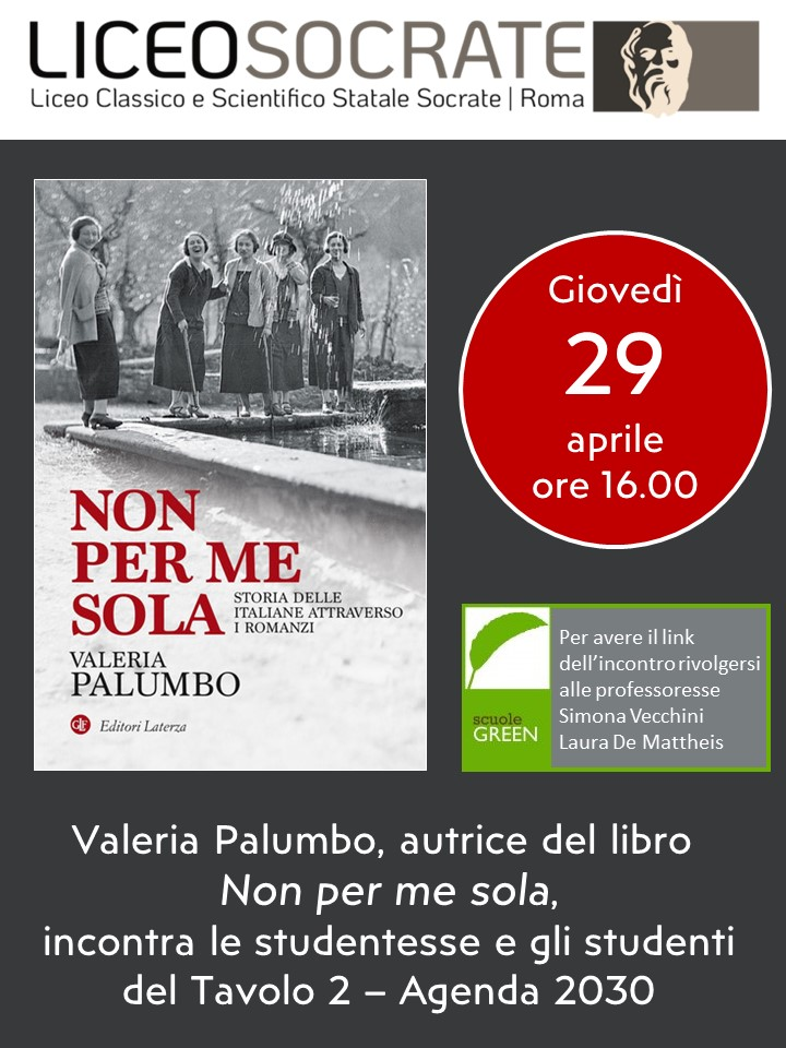 incontro Valeria Palumbo 29-04-21