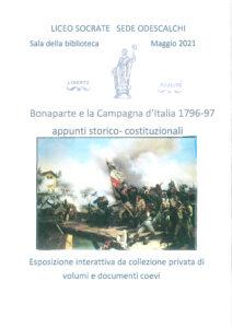 Bonaparte e la Campagna D'Italia